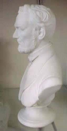 Parian Bust Of Lincoln SOLD