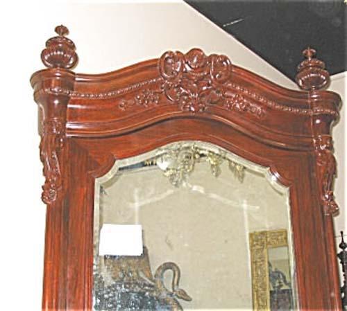 Victorian Meeks Rosewood Armoire