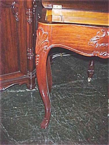 Table; Victorian Rococo Revival Rosewood Table