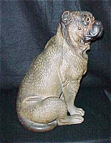Terra Cotta Pug Dog