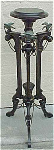 Victorian Ebonized Kilian Bros Eagle Stand  Sold