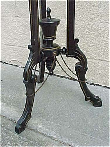 Victorian Ebonized Kilian Bros Stand. SOLD
