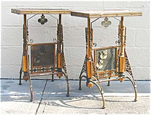 Aesthetic Brass Tables, Parker SOLD.