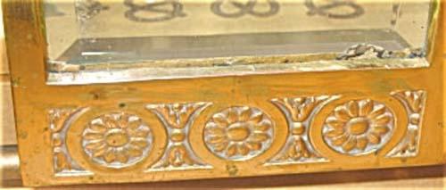 Aesthetic Victorian Brass Mirror SOLD
