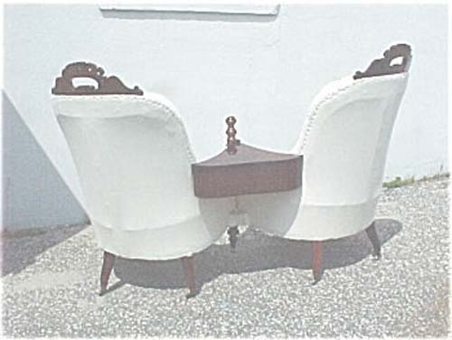 Belter Double Chair Loveseat-  SOLD