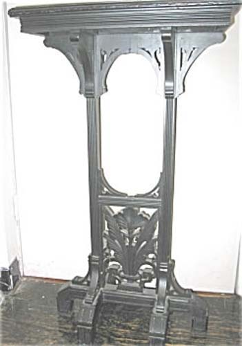 Victorian Aesthetic  Ebonized  Table SOLD