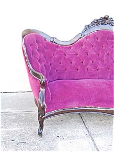 Belter Rosalie Without Grapes Sofa.      SOLD