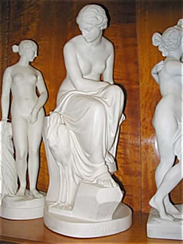 Parian Figurine by Minton Of Solitude