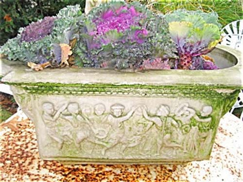 Garden: Ornate Garden Flower Planter