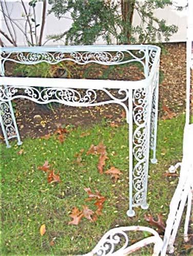 Woodard Andulasia Iron Table  SOLD