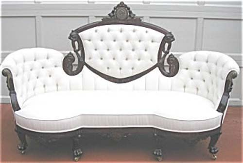 Victorian Egyptian Revival Sofa By P & S