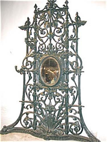 Garden: Victorian Cast Iron Coalbrookdale
