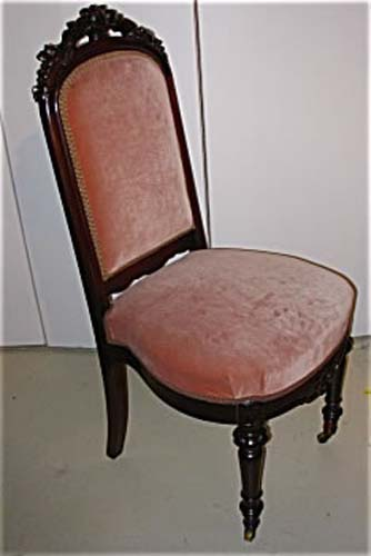 Victorian Walnut Fruit Carved Chairs Joan Bogart