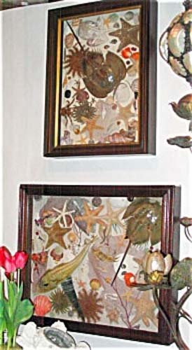 Victorian Shadow Boxes W/ Shells