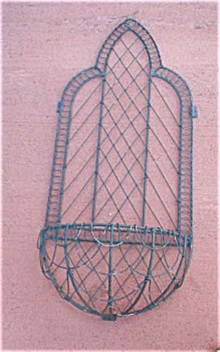 Garden: Wire Planter, Gothic Design