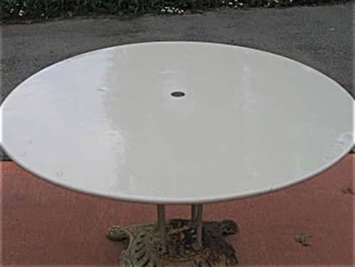 Garden: Wrought Iron Table