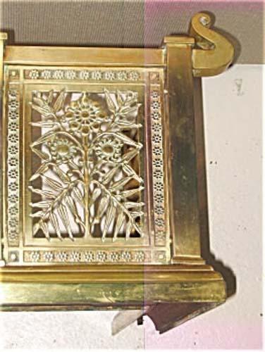 Victorian Aesthetic Brass Fender SOLD
