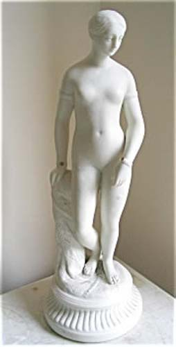 Parian Greek Slave Girl SOLD