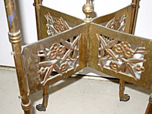 Victorian Aesthetic Brass  B & H Table SOLD