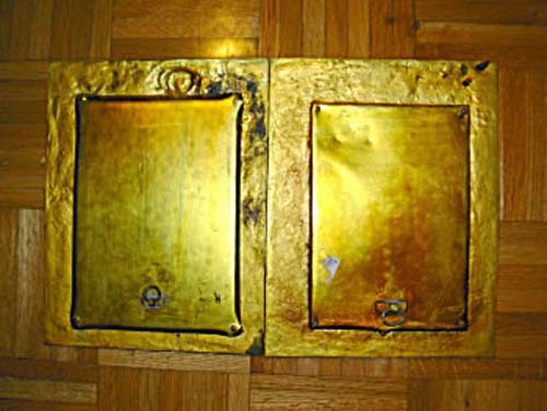 Pair of Bronze Aesthetic Frames SOLD