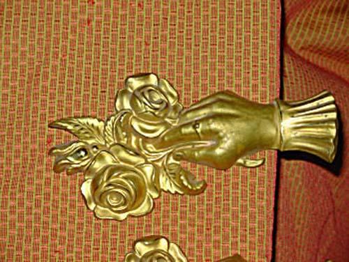 Tie Backs, Pr Victorian Brass