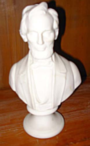 Parian Busts Of Abe Lincoln