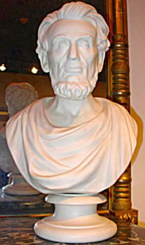 Parian Bust Of Lincoln - Wedgwood SOLD