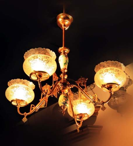 Chandelier Gas, Aesthetic Style. SOLD
